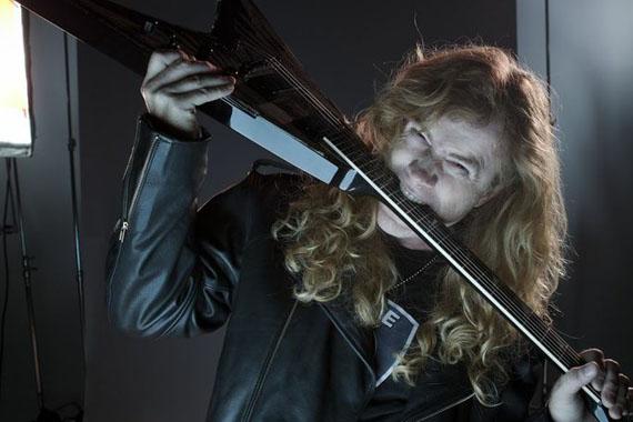 Dave Mustaine, líder de Megadeth | Foto: Travis Shinn