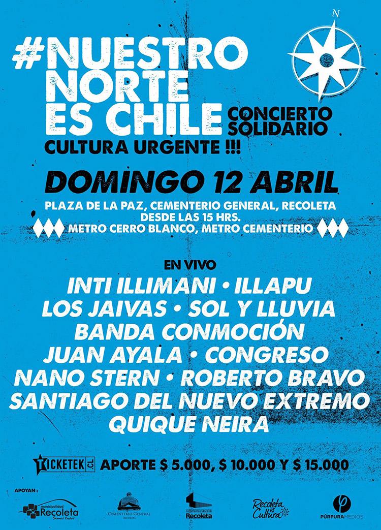 concierto solidario norte de chile 2015