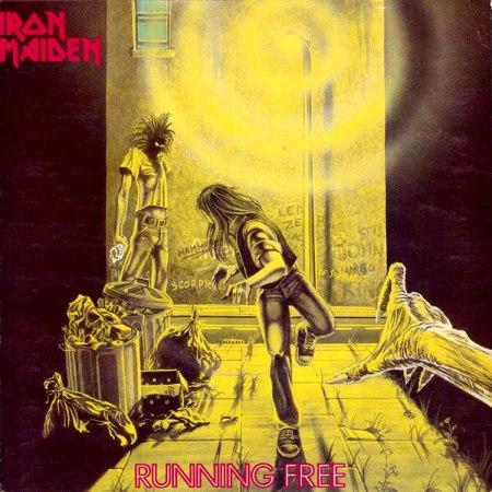 """Single """"Running Free"""" de Iron Maiden"""