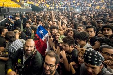 Motorhead en Chile | Fotógrafo: Javier Valenzuela