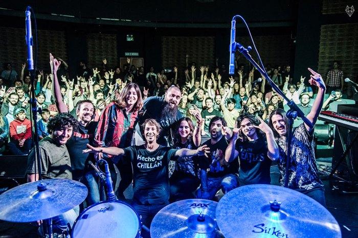 Cler Canifrú y su banda en vivo