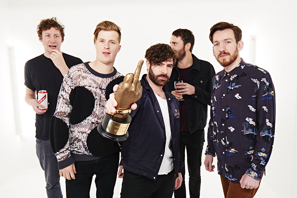 Foals - NME Awards 2016