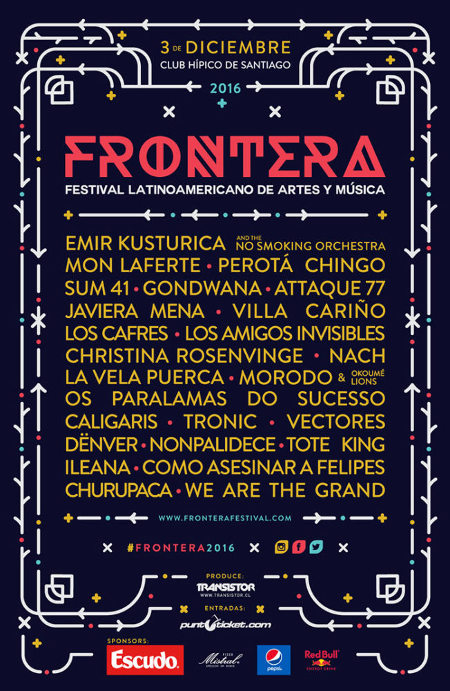 Cartel Frontera Festival 2016