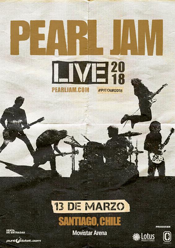 Pearl Jam en Chile 2018
