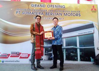 Mitsubishi resmikan dealer pertamanya di Binjai