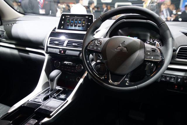 Interior Mitsubishi Eclipse Cross Di Tokyo Motor Show 2017