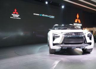 Mitsubishi e-Evolution Concept, SUV listrik yang pintar