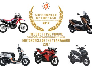 5 Finalis Forwot Motorcycle of The Year 2017