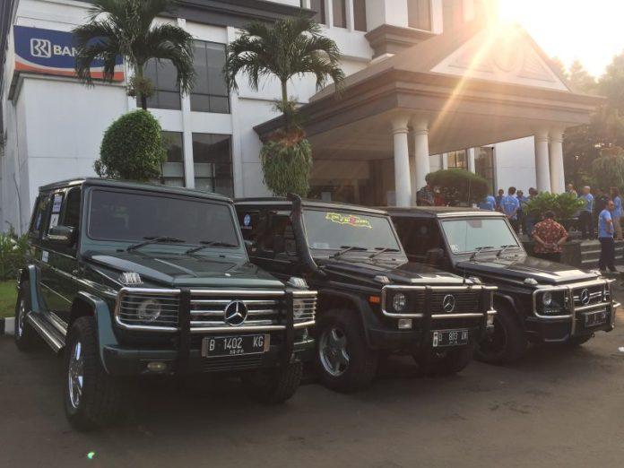 komunitas jip Mercedes-Benz