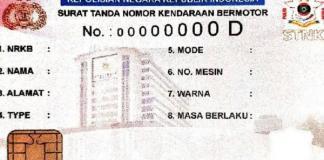 E-stnk kartu
