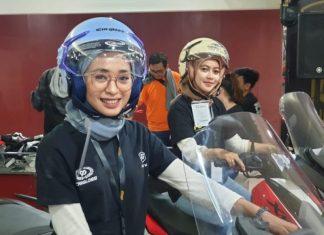 Helm cargloss hijabers