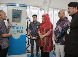 SPKLU PLN Jawa Tengah