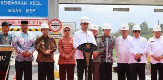 Jokowi jalan tol balikpapan-samarinda