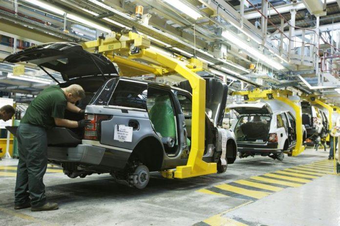 pabrik jaguar land rover solihull inggris