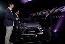 Peluncuran mobil virtual Toyota Agya