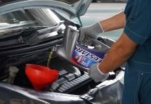 ganti oli mesin yang lama parkir