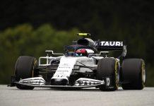 Pierre gasly honda F1 2020
