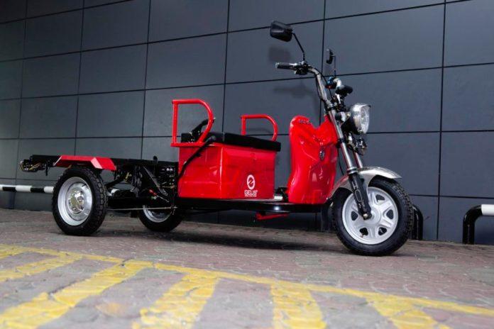 kompetisi modifikasi gerobak listrik gelis
