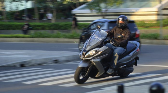 kymco downtown 250i test ride