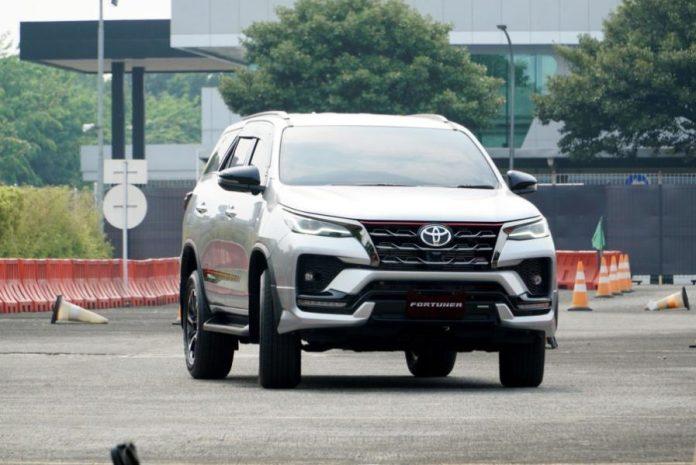 Toyota fortuner facelift