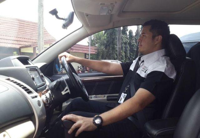 Posisi duduk saat berkendara