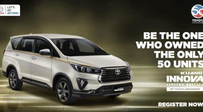Toyota Kijang innova 50th anniversary