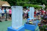 Ice Sculpting Show for Busch Gardens, Food Artist Group