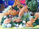 Fruit-Carving-SeaWorld-Texas-Seven-Seas-Fish