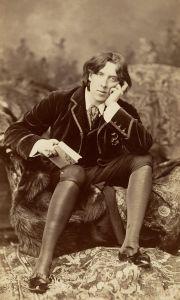 Oscar Wilde mânca cărți