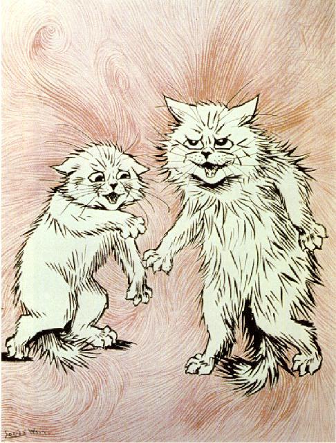 Louis Wain Bethlem cats