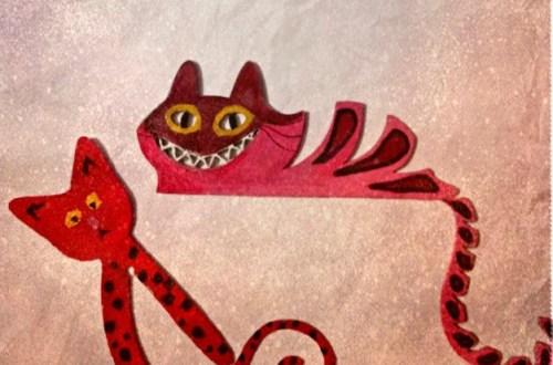 pisici facute la imprimanta 3D