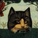 pisica artist necunoscut