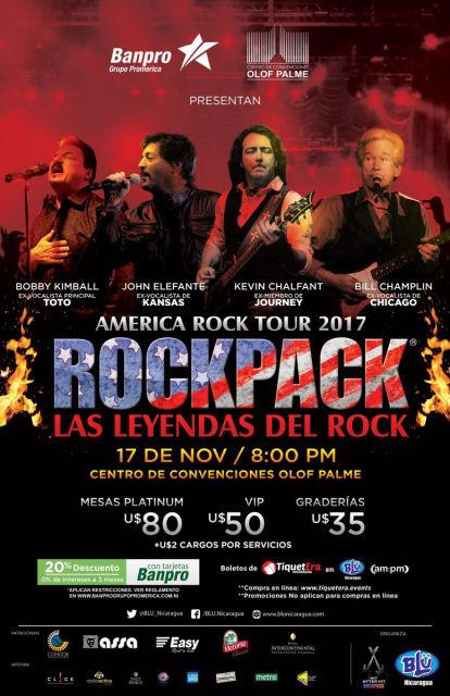 November 17, 2017 – ROCKPACK® in Nicaragua