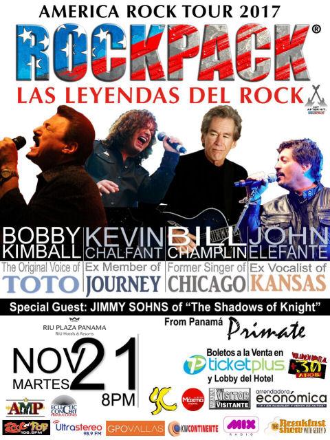 November 21, 2017 – ROCKPACK® in Panama