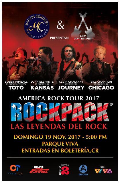 November 19, 2017 – ROCKPACK® in Costa Rica