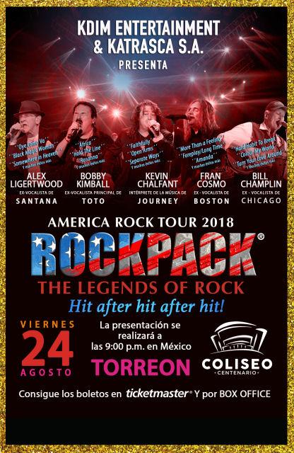August 24, 2018 – ROCKPACK® in Torreon