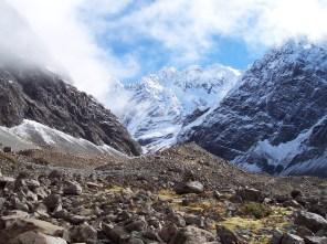 Moraine from Cameron Glacier, New Zealand