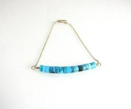 Delicate Turquoise Bracelet