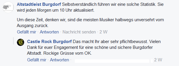 Screenshot Facebook: Altstadtleist burgdorf