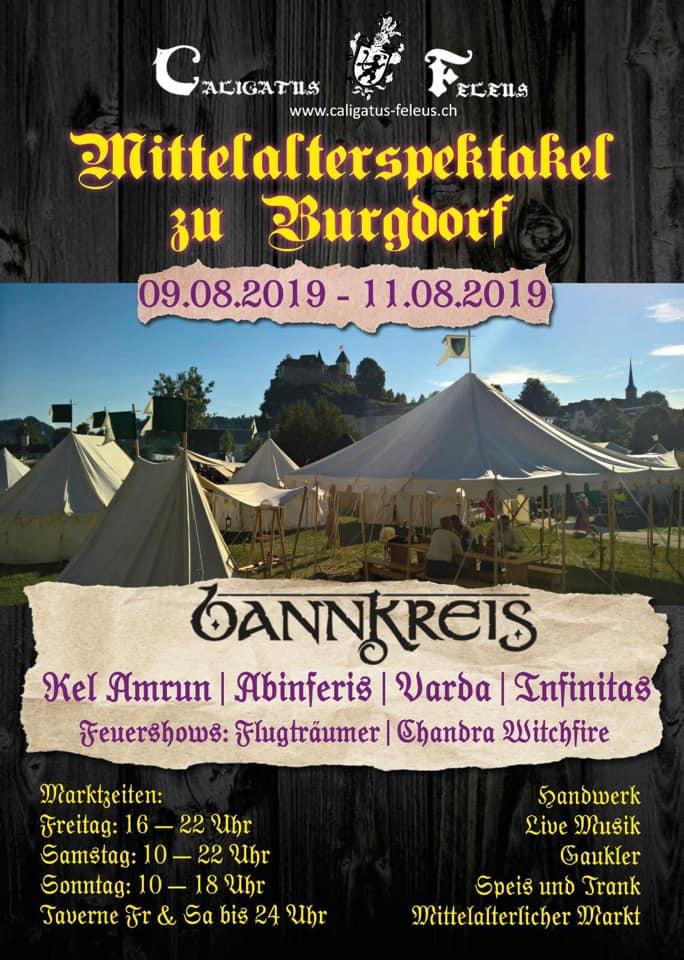 mittelaltermarkt burgdorf 2019