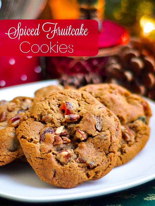 Best Ever Fruitcake Cookie Recipe : fruitcake, cookie, recipe, Fruitcake, Cookies, Spiced, Flavor, Crispy,, Chewy, Cookie!