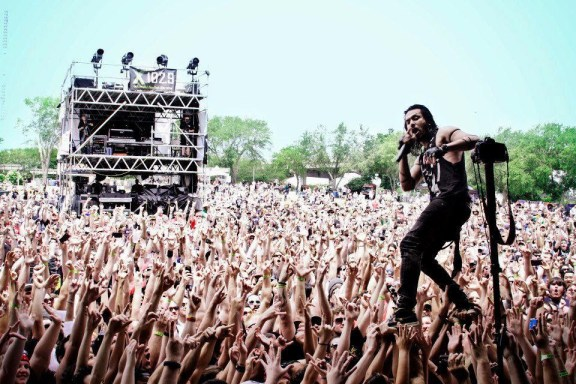 Pop Evil at Monster Energy's Welcome To Rockville 2013