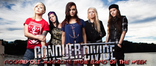conquer divide - indie band of the week - banner