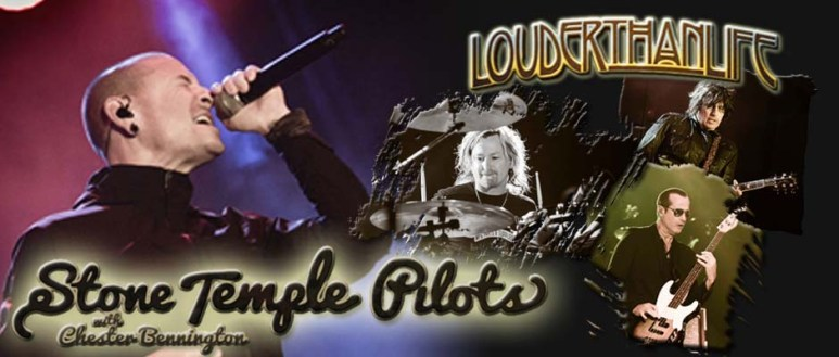 banner - stone temple pilots - louder than life