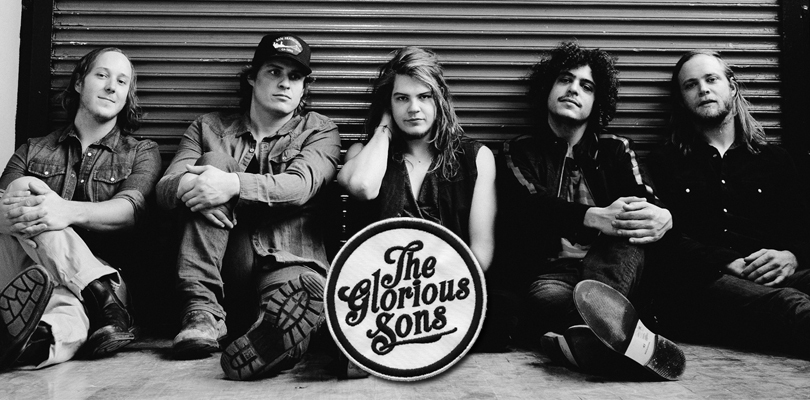 The Glorious Sons: (L-R): Jay Emmons, Andrew Young, Brett Emmons, Adam Paquette and Chris Huot