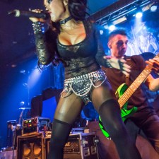 CONCERT PHOTOS, SHOW REVIEW: BUTCHER BABIES, BATTLECROSS, TROGLODYTE