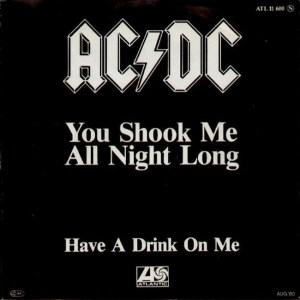 4 - You Shook Me All Night Long - ACDC