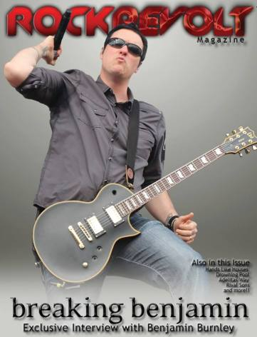 CLICK ON THE COVER TO READ THE INTERVIEW WITH BEN! -  FEB/MARCH 2016 RockRevolt Magazine!
