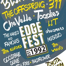 97.1 The Eagle Presents the 25th Anniversary of Edgefest
