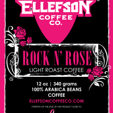 ELLEFSON COFFEE CO RELEASES NEW ROCK N' ROSE BLEND FOR BREAST CANCER AWARENESS MONTH, PORTION OF PROCEEDS TO GO TO THEROSE.ORG, A HOUSTON BASED BREAST CANCER CHARITY.